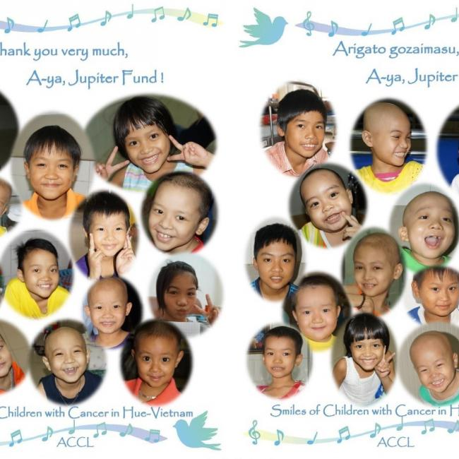 Precious smiles of children with cancer in Hue-Vietnam (ACCL)